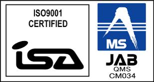 ISO9001のマーク