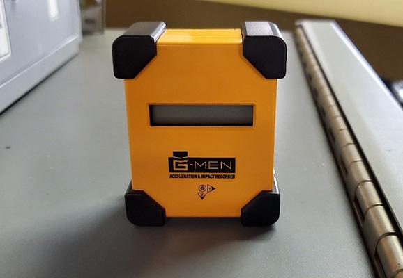 G-MEN(振動衝撃測定器)